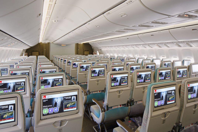 Emirates Economy Cabin