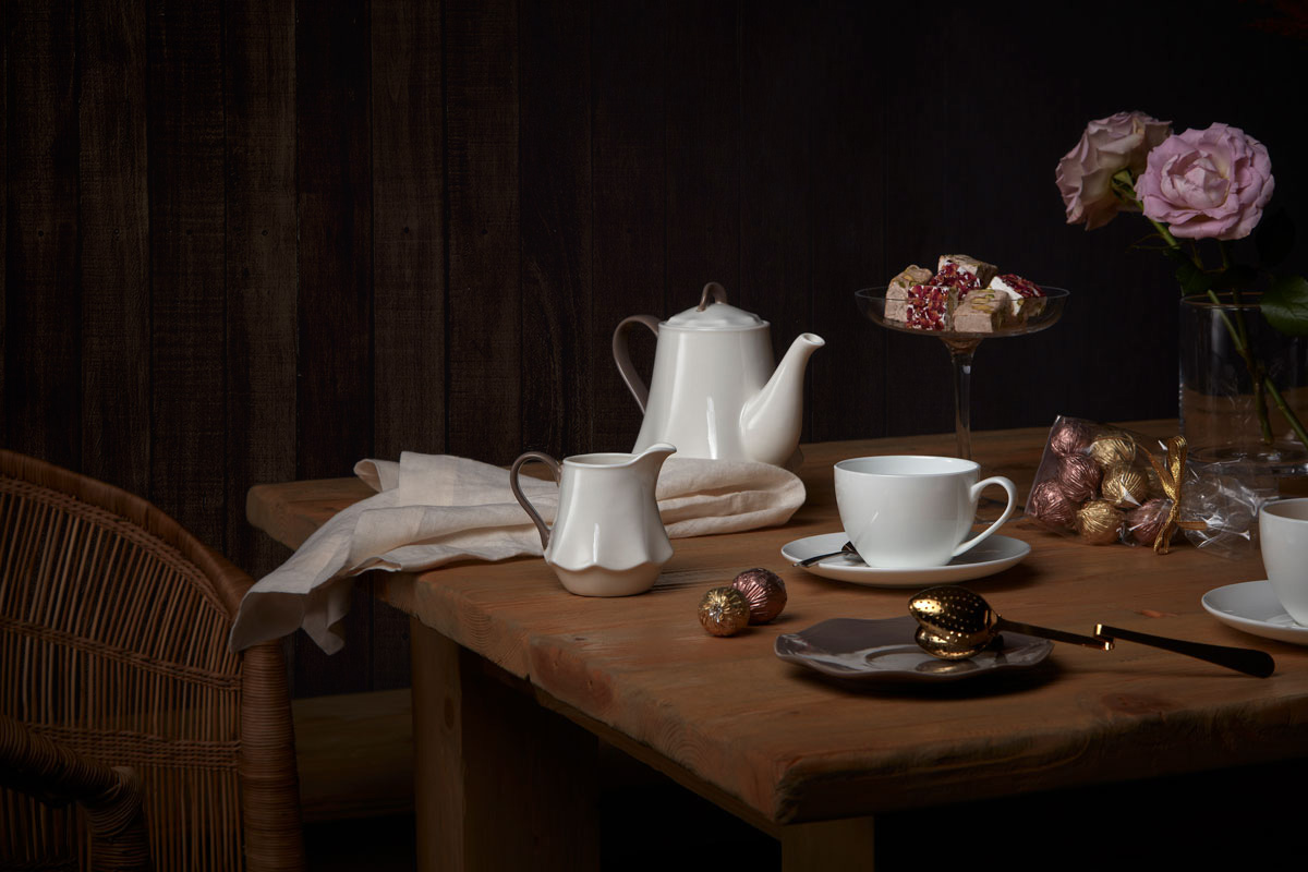 ramadan photography, still life table setup